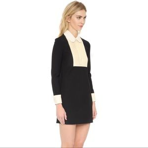 RED Valentino Mini Shirtdress Black Size 36